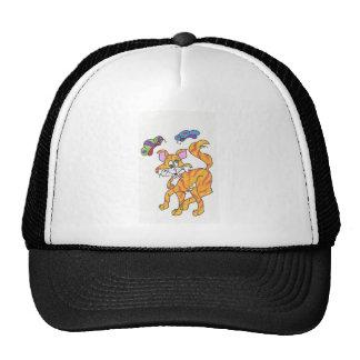 Butterfly Kitty Mesh Hats