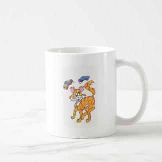 Butterfly Kitty Mug