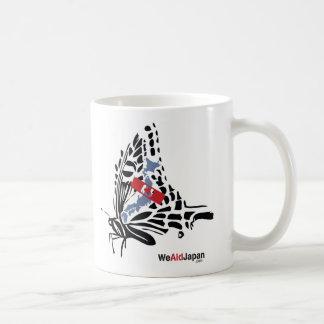 Butterfly&Koi 蝶と鯉 Coffee Mug