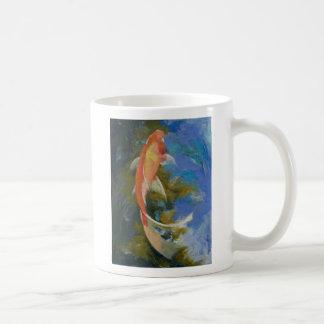 Butterfly Koi Painting Mug