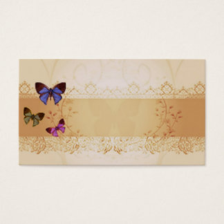 Butterfly Lace Garden Business Card