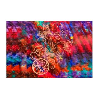 Butterfly Lace (Landscape Orientation) Acrylic Wall Art