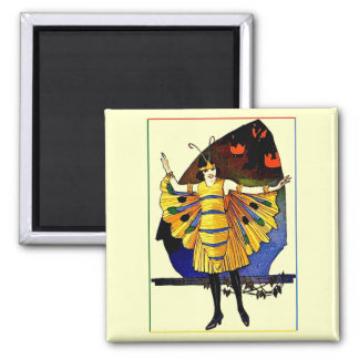 Butterfly Lady Magnet