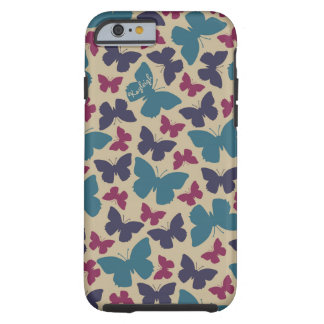 Butterfly Lady Tough iPhone 6 Case