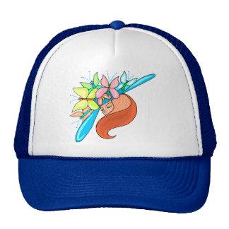Butterfly Lady Trucker Hat