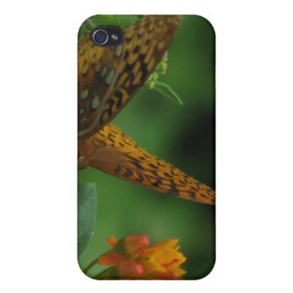 Butterfly Landing iPhone 4 Case