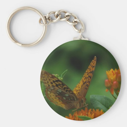 Butterfly Landing Keychains
