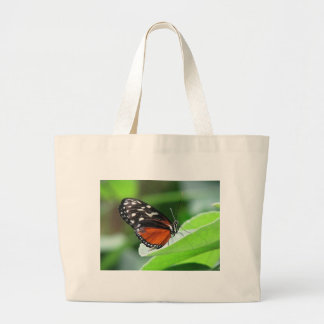 ButterFly Landing Large Tote Bag