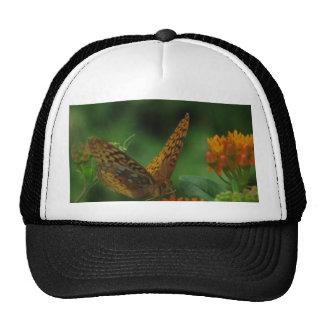 Butterfly Landing Trucker Hat