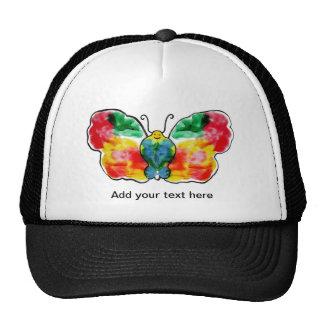 Butterfly - landscape template design trucker hat