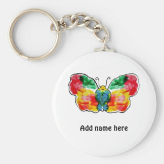 Butterfly - landscape template design keychain