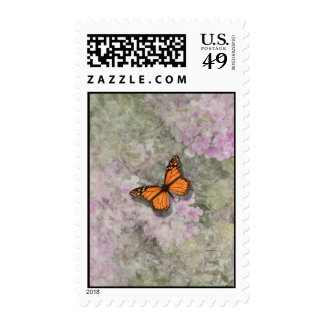 Butterfly Lantana  Flowers Stamps