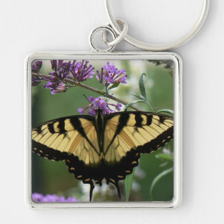 """Butterfly - Large (2.00"""") Premium Square Keychain"""