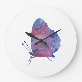 Butterfly Large Clock