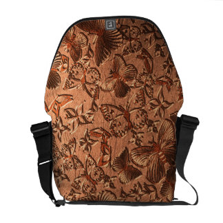 Butterfly Leather 1 Messenger Bag