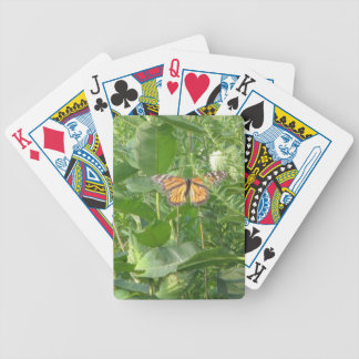 Butterfly Leaves Bicycle Playing Cards