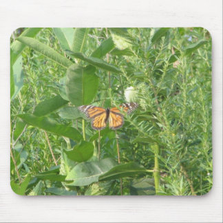 Butterfly Leaves Mouse Pad