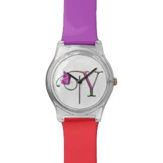 Butterfly Letter-Y Initial-Y Monogram-Y for HER Wristwatches