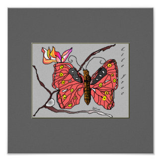 Butterfly Life Free Art Posters