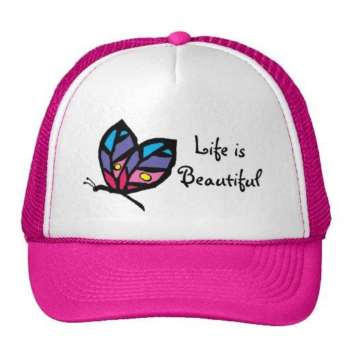 butterfly, Life isBeautiful Trucker Hat