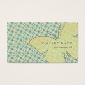 Butterfly Likes Polka Dots Business Card