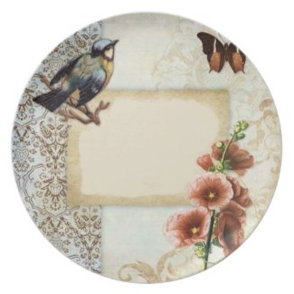 Butterfly Lily Party Plates
