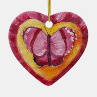 Butterfly Love aceo Ornament