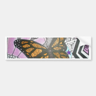 Butterfly Love Bumper Sticker