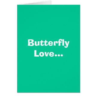 Butterfly Love... Card