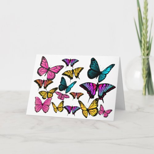 BUTTERFLY LOVE CARD