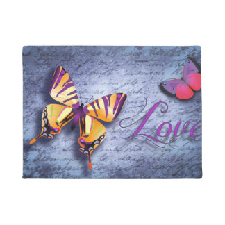 Butterfly Love Doormat