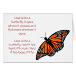 Butterfly Love, greeting card