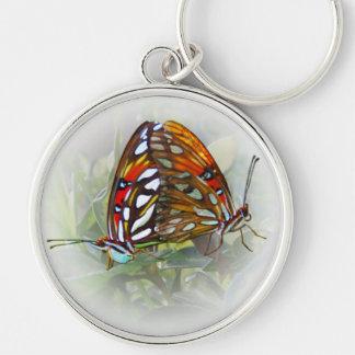 Butterfly Love Keychain
