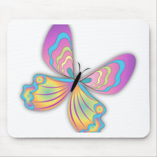 Butterfly Love Mouse Pad