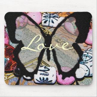Butterfly Love Mousepad