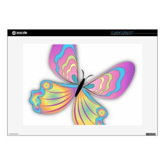 """Butterfly Love 15"""" Laptop Decal"""