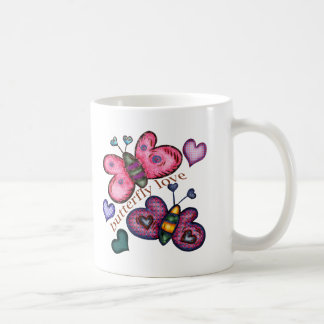 Butterfly Love T-shirts and Gifts For Her Coffee Mug