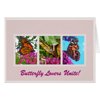 Butterfly Lovers Unite Card