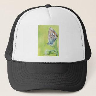 Butterfly macro photo trucker hat