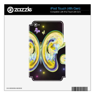 Butterfly Madness.JPG iPod Touch 4G Skins