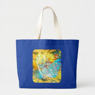 Butterfly Magic Jumbo Tote Bag