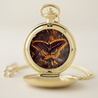 Butterfly Magic Pocket Watch