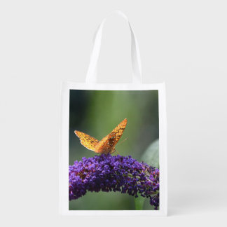 Butterfly Magic Reusable Bag Grocery Bag