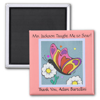 Butterfly Magnet - Teacher Thank You !