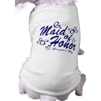 Butterfly/ Maid of Honor Dog Tee