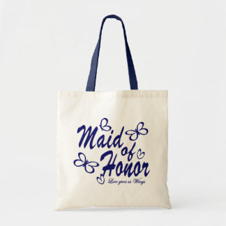 Butterfly/ Maid of Honor Tote Bag