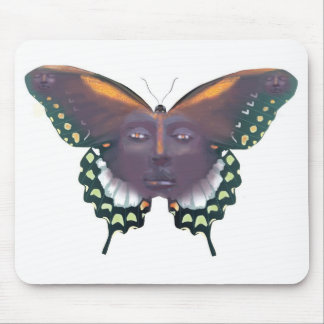 Butterfly man zazzle mouse pad