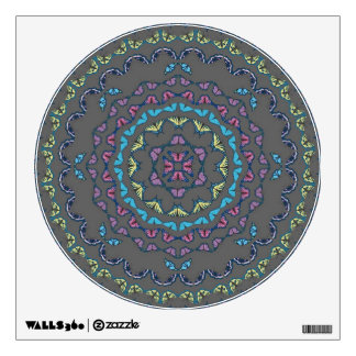 Butterfly Mandala Decal