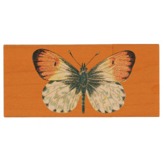 Butterfly Maple USB Wood Flash Drive