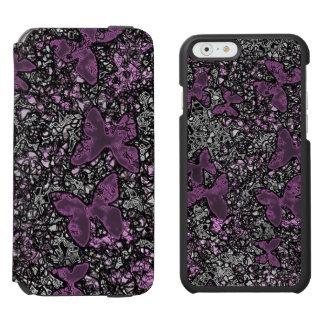 butterfly marble iPhone folio wallet case Incipio Watson™ iPhone 6 Wallet Case